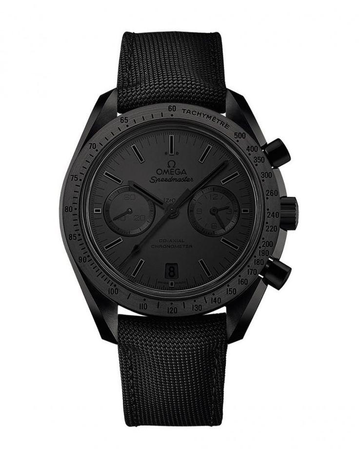 Часы Omega 311.92.44.51.01.005 Speedmaster Dark Side of the Moon - черные - швейцарские мужские наручные часы