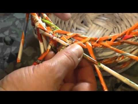 """▶ How to make the edging """"Grethen"""". Part 8. - YouTube"""