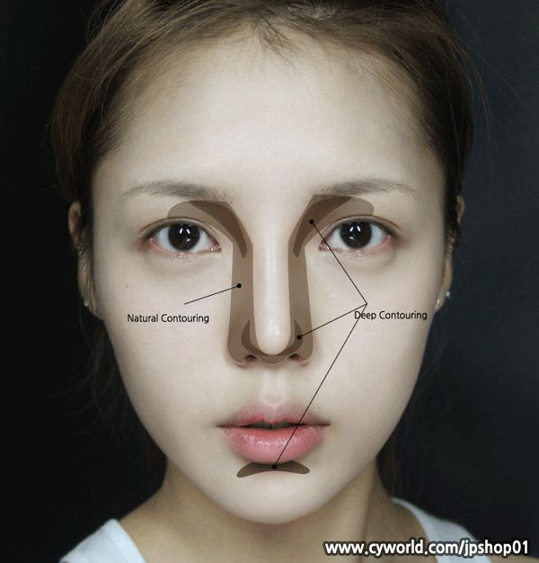 Two toned nose contour makes all the difference! I did not think this would necessarily suit my face but it was surprisingly universal. -- Loves2BPretty