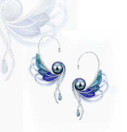 2013 international pearl design contest winner vickie smith tahitian paradise by vickie - Jewelry Design Ideas