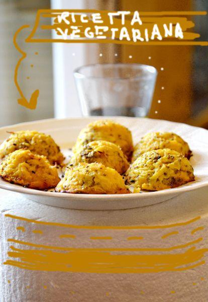Cupollette di cavolfiore, patate e semi di chia
