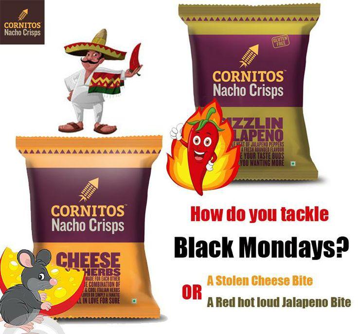 CORNITOS! Jalapeno or Cheese & Herbs?