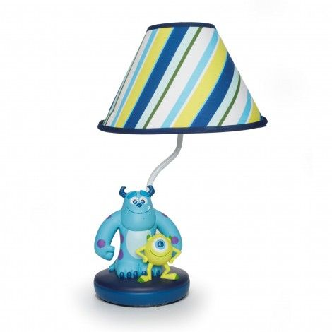 Thinking about doing Dom & Austin's room as Monsters INC...MONSTERS, INC. Premier Lamp and Shade