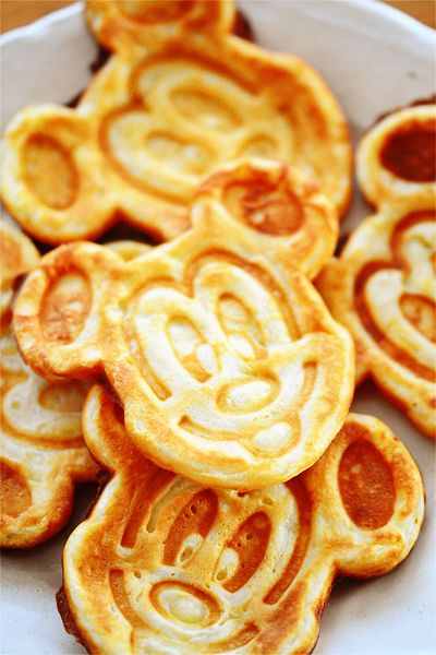 Mickey mouse's pancakes.