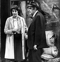 Fish is a spin-off television series of the sitcom Barney Miller. It starred Abe Vigoda as New York Police Department Detective Phil Fish and Florence Stanley as his wife Bernice.February 5, 1977 – May 18, 1978