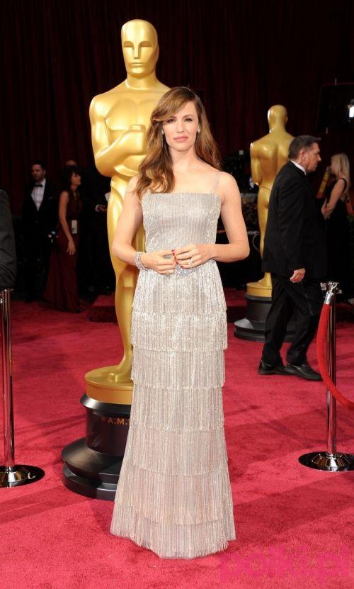 Oscary 2014: Jennifer Garner lekkiej i zwiewnej kreacji