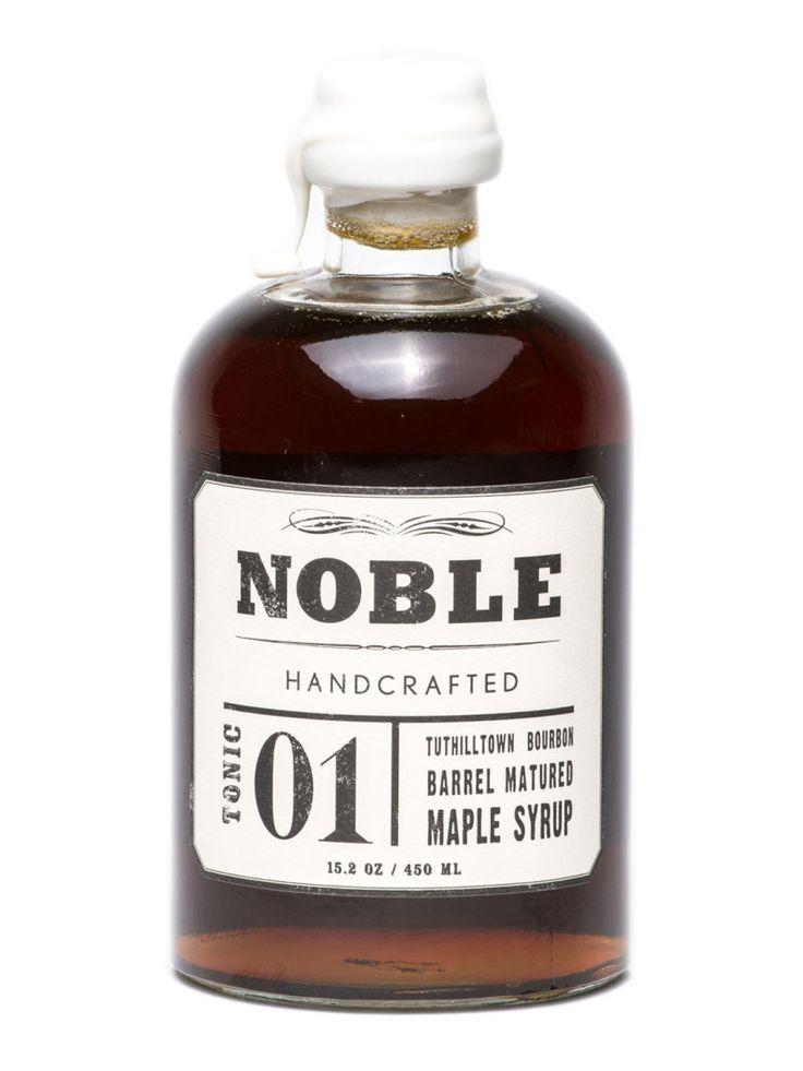 Noble Tonic 01: Tuthilltown Bourbon Barrel Matured Maple Syrup | Mikuni Wild Harvest