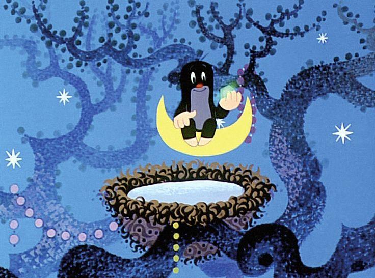 (2014-07) Muldvarpen sidder på månen med sin stjerne