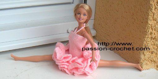 Tenue de danseuse pour poup�e Barbie