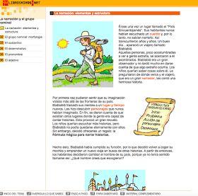 actividades interactivas texto narrativo