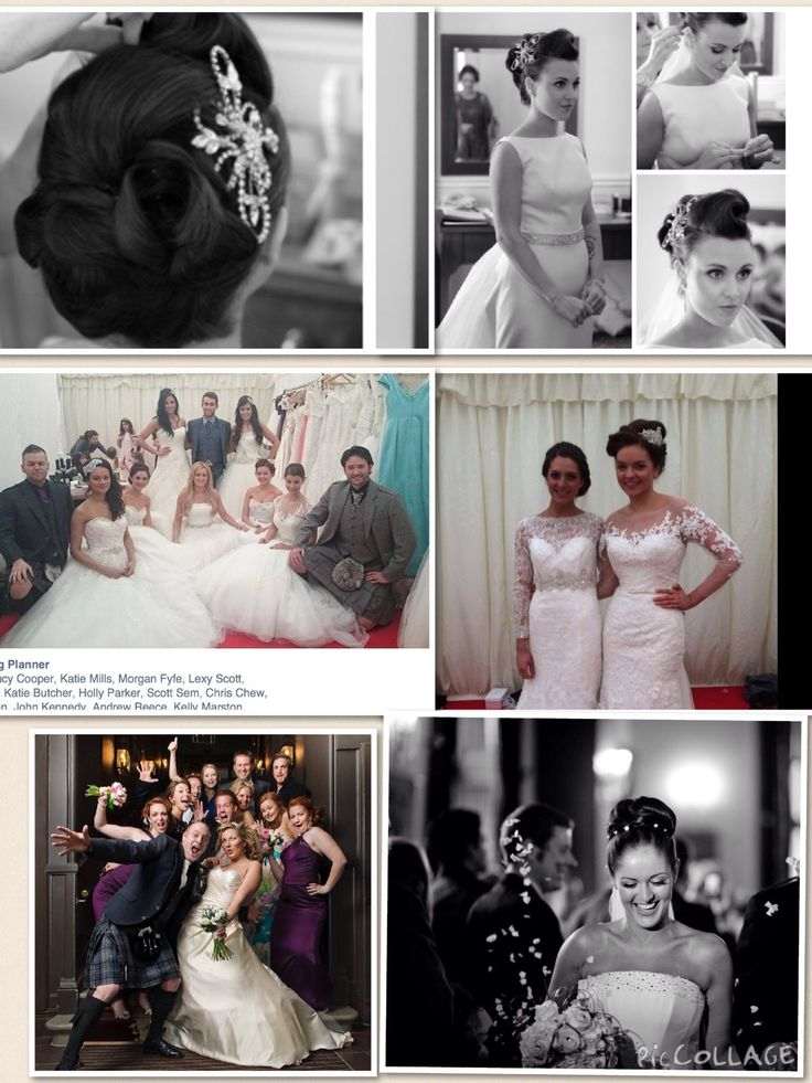 Wedding hair by Karin SL hairdressing