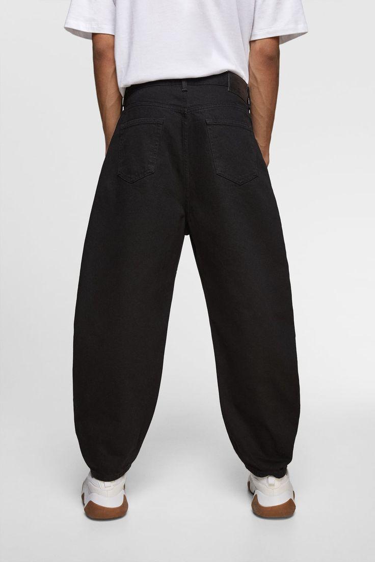 Zdjecie 4 Spodnie Jeansowe O Szerokim Kroju Z Zara Jeans Fit Relaxed Fit Jeans Fashion