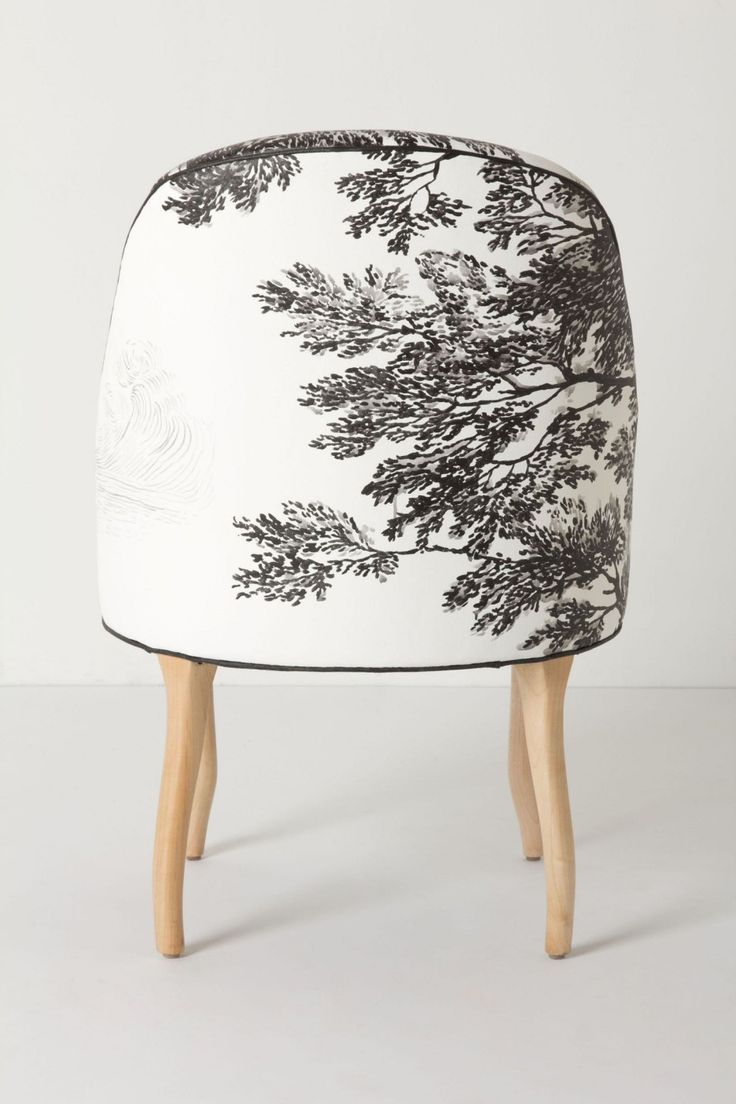 Hand painted chair by Molly Hatch