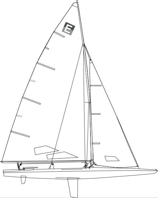 c scow rigging diagram