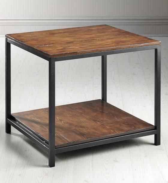 Industrial Mansard End Table... By Home Decorators