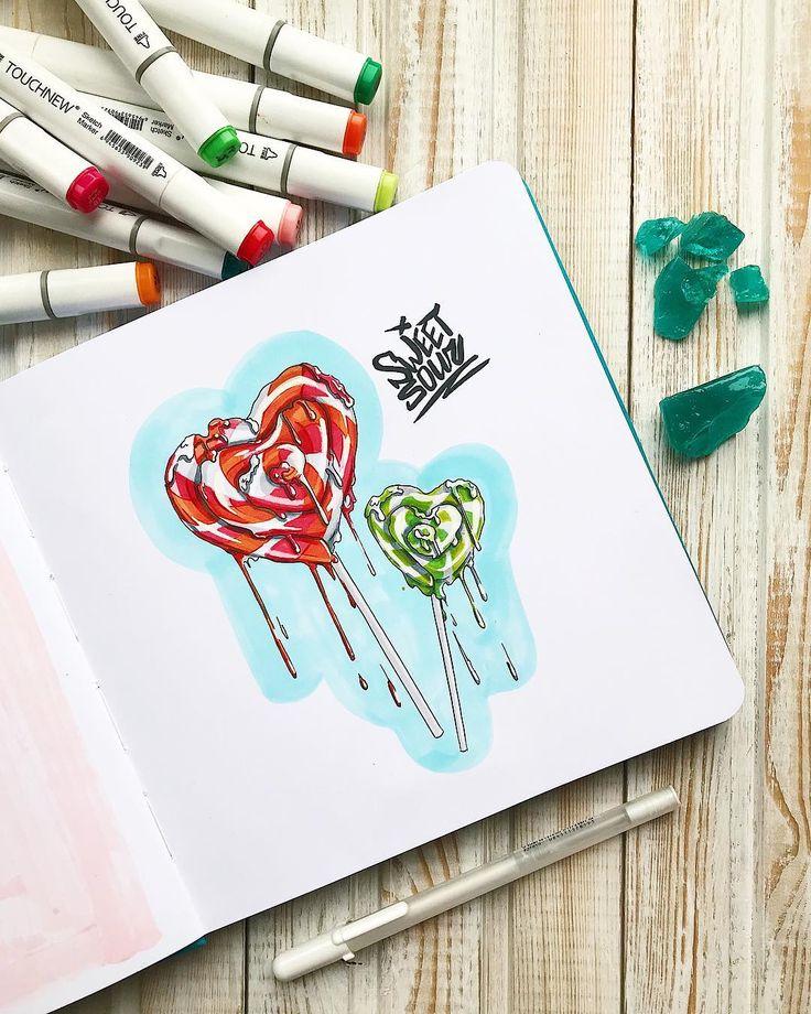 Картинки, как выглядит нарисованная открытка