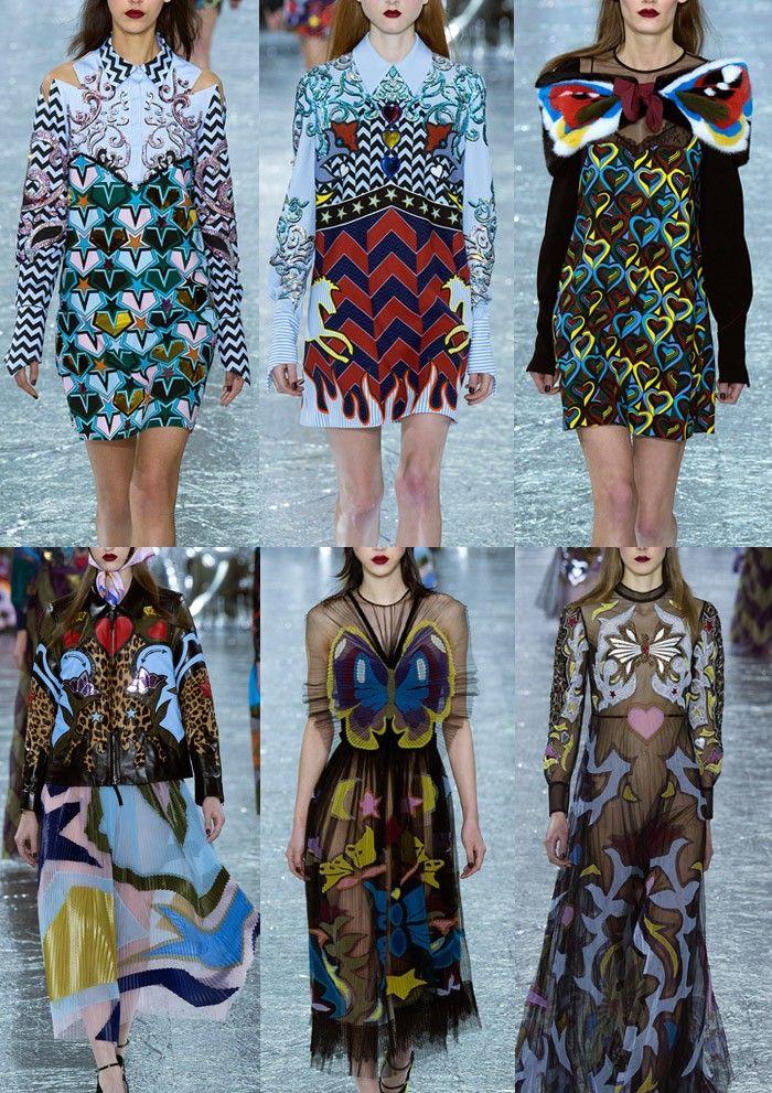 London Fashion Week Womenswear Print Highlights Part 1 – Autumn/Winter 2016/17
