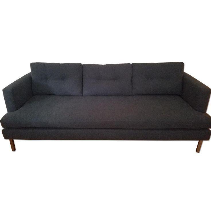 used west elm furniture. west elm mid century sofa used furniture o