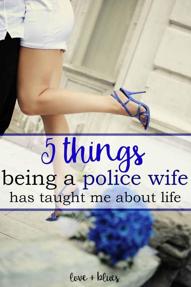 I love this, and I totally agree!  I've grown SO MUCH over the years as a police wife, and seriously wouldn't trade it for the world