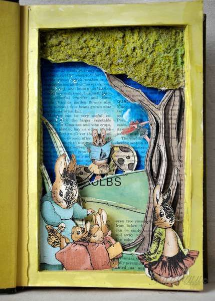 One of the most interesting things i've ever seen done to a Beatrix Potter book.