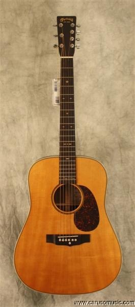 Martin D-7 Roger McGuinn. This signature guitar of the Byrds' frontman is a 7-string guitar but not like most. The 7th string doubles the G-string so as to mimic Roger's famous 12-string sound when playing chords without the hassle of all the extra strings when playing leads and bass lines.