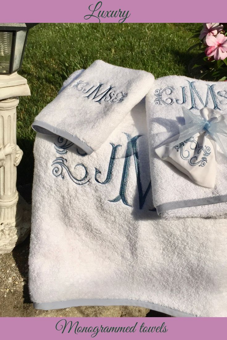 Custom Embroidered Linens Staten Island Ny Say It With Linens
