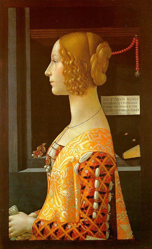 1488 -  Portrait of Giovanna Tornabuoni - Domenico Ghirlandaio
