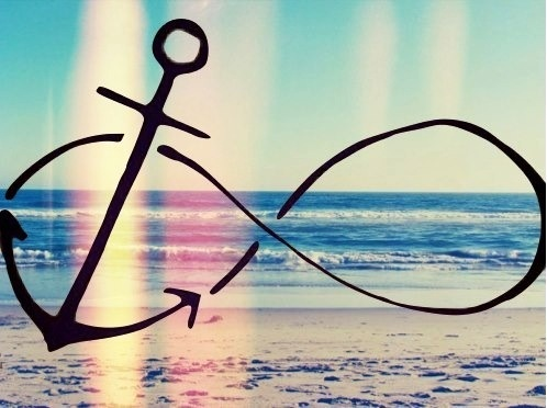 Infinity anchor beach anchors pinterest love love for Infinity sign tattoo cover up