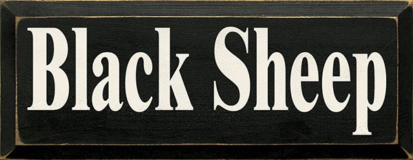 funny sign   black sheep of the family  gift for black sheep of the family  gift for black sheep  funny gift