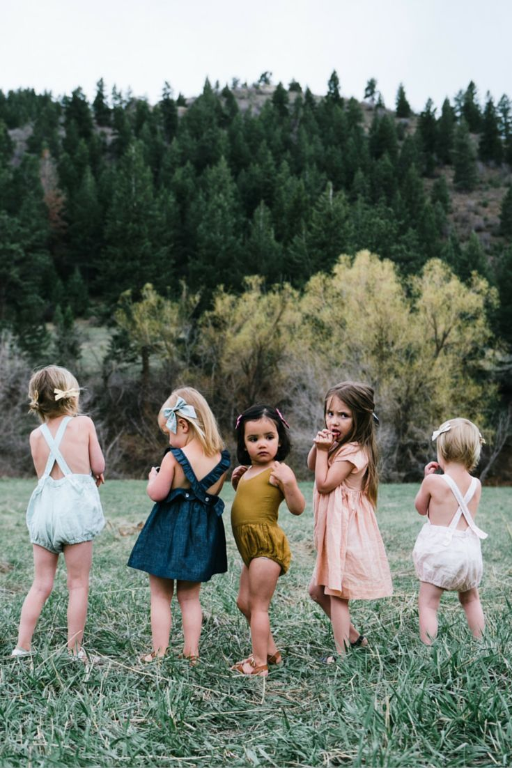"""""""Squad Goals"""" - Little style for little adventurers. Free Babes Handmade Bows // Made with love in the USA."""