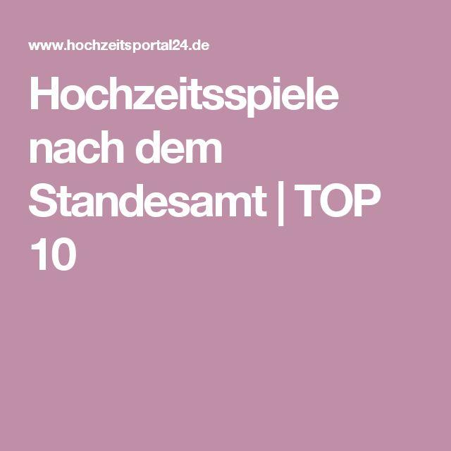Hochzeitsspiele nach dem Standesamt | TOP 10