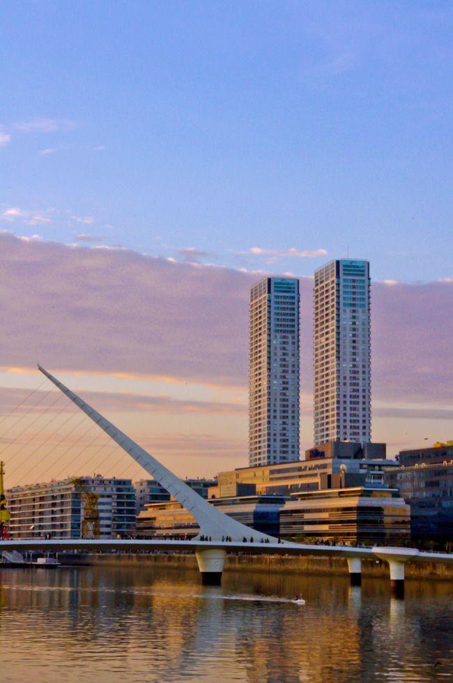 ♥♥♥ Puente de la Mujer, Calatrava, Puerto Madero-Buenos Aires, Argentina