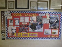 Core Values Schedule for Character Education with links