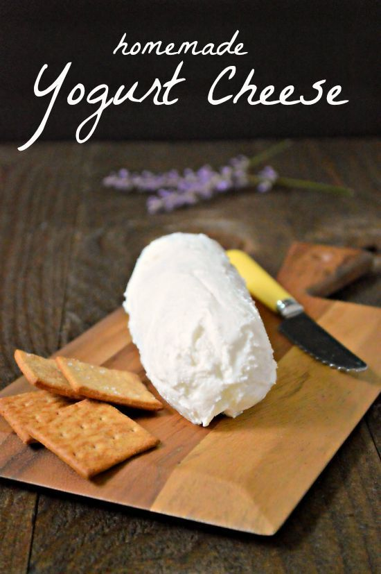 How to make homemade Yogurt Cheese (SO easy!) and some other very simple cream cheese alternative recipes that you can make from what you have at home. SAVE THIS!