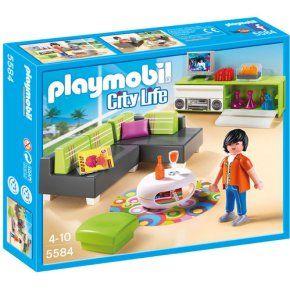 Playmobil Woonkamer 5584 - Speelgoedshop.nl