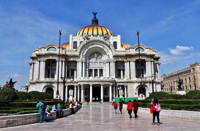 Ciudad de México, Palacio de las Bellas Artes, hoy.