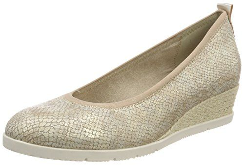 light Gold 22311 41 Escarpins Str Eu Femme Tamaris Or IgHqFwRRx