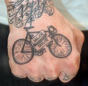 Major Taylor tattoo