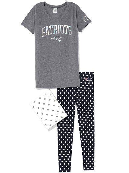 Victoria's Secret New England Patriots PJs. Size M.