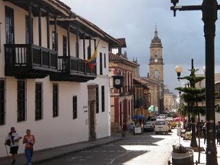 La Candelaria. Bogota, Colombia