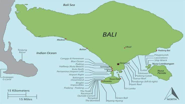 Berselancar di Bali ketika Musim Kemarau Dari Kuta hingga sepanjang pantai menuju Uluwatu, pesisir pantai barat Bali menjanjikan ombak besar terbaik untuk diselancari pada musim ini.