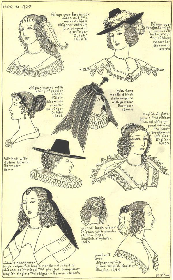 17th century hats and hairstyles photo 17thcenturyhats10.jpg