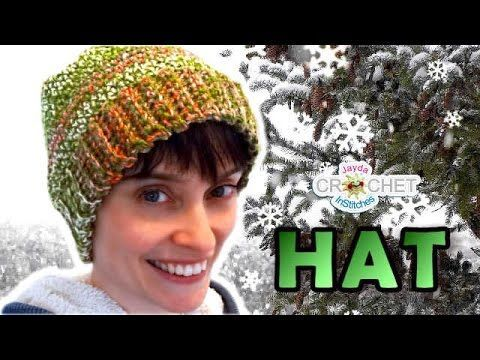 DIY Tutorial - Crochet Messy Bun Hat - Ribbed Bun Pony Tail Updo Hat with Hole on Top - YouTube