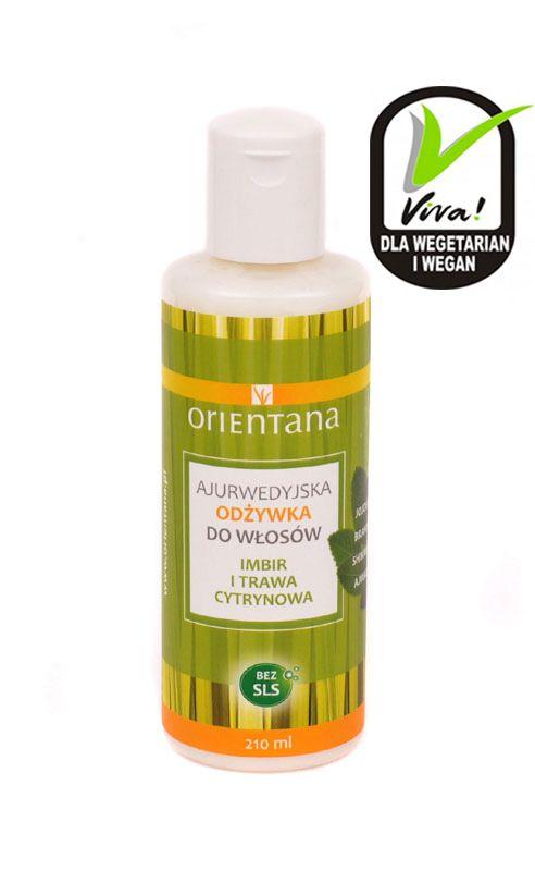 Orientana Ajurwedyjska odżywka Imbir i Trawa Cytrynowa - Nieprzyzwoicie naturalny sklep dla kobiet lubiących siebie