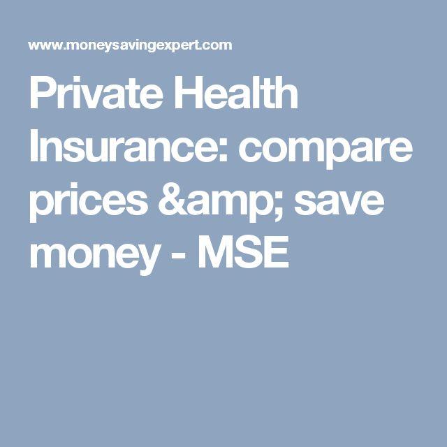 Private Health Insurance: compare prices & save money - MSE
