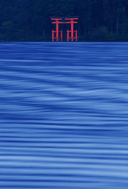 Lake Ashinoko, Hakone, Kanagawa, Japan.