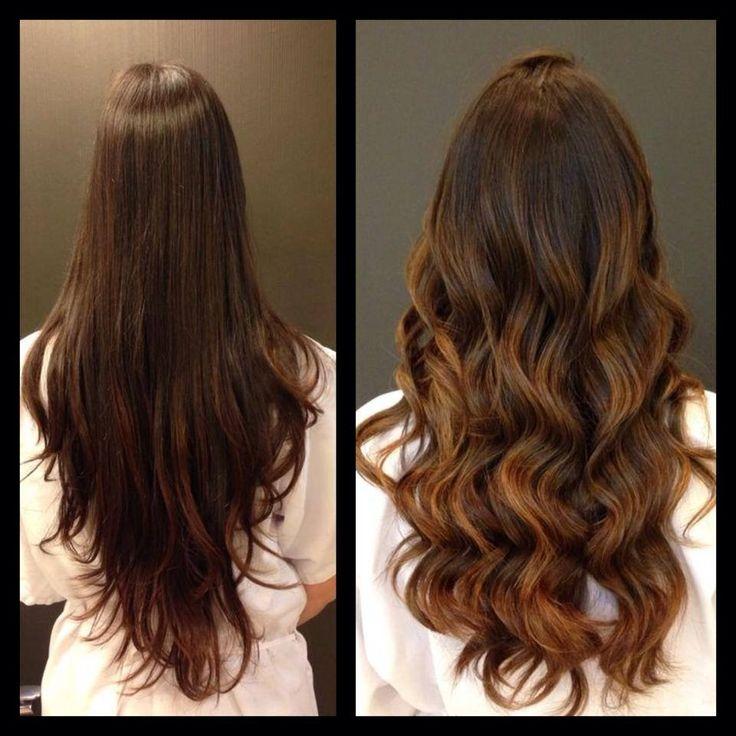 25 melhores ideias de cabelo longo desfiado no pinterest