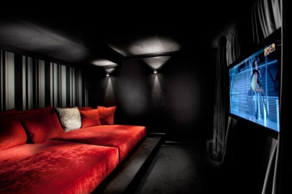 The perfect home theater for those weekend marathon movie sessions.