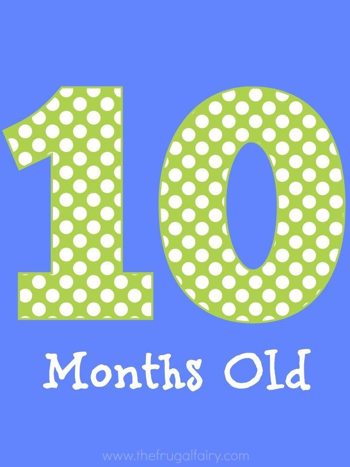 Поздравление 10 месяцев картинки
