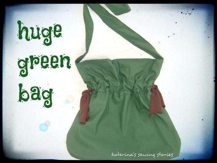 huge green bag ... that's it!